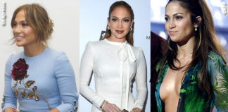 Jennifer Lopez abito Dolce & Gabbana abito Ermanno Scervino abito Versace