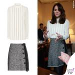 Kate Middleton camicia Reiss gonna Dolce & Gabbana 2