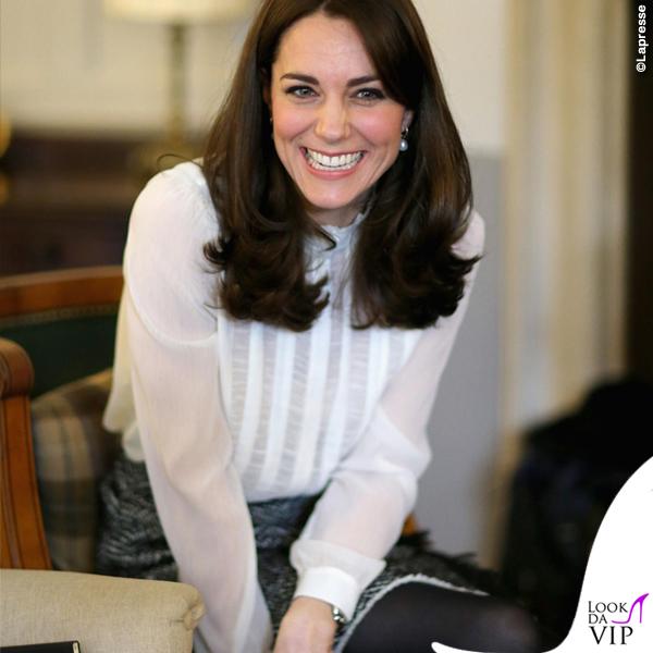 Kate Middleton camicia Reiss gonna Dolce & Gabbana
