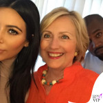 Kim Kardashian, Hillary Clinton e Kanye West