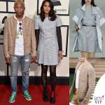 Pharrel Williams giacca Chanel Helen Laisichanh abito Chanel 2