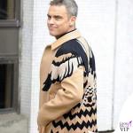 Robbie Williams cappotto Valentino