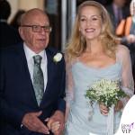 nozze Rupert Murdoch Jerry Hall abito Vivienne Westwood ballerine Roger Vivier 3