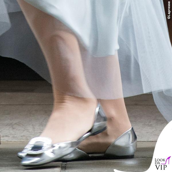 nozze Rupert Murdoch Jerry Hall abito Vivienne Westwood ballerine Roger Vivier 7