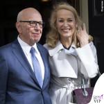 nozze civili Rupert Murdoch Jerry Hall ballerine Roger Vivier 2