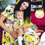 Bianca Balti e Mia: un compleanno in pendant