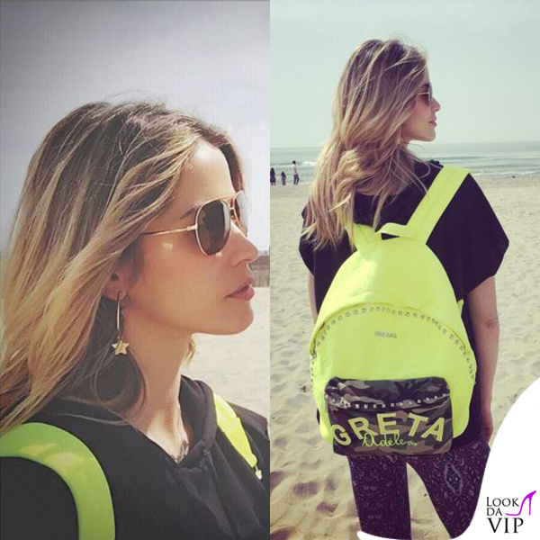 Elena Santarelli zaino Mia Bag for Adele Virgi
