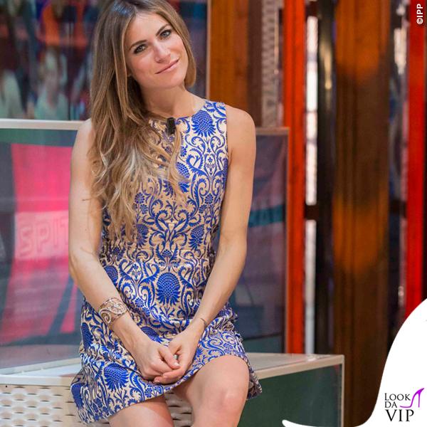 Eleonora Pedron abito Alice + Olivia