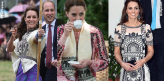 Kate Middleton India