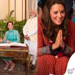 Kate Middleton, scivolone tra ricchi e poveri