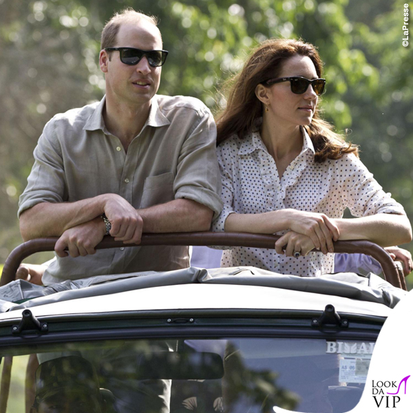 Kate Middleton India quarto giorno camicia RM Williams pantaloni Zara mocassino Sebago