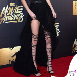 Kendall Jenner Mtv Movie Awards abito Kristian Aadnevik sandali Dsquared2 8