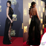 Kendall Jenner Mtv Movie Awards abito Kristian Aadnevik sandali Dsquared2 6