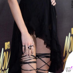 Kendall Jenner Mtv Movie Awards abito Kristian Aadnevik sandali Dsquared2 5