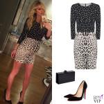 Nicky Hilton abito Dolce & Gabbana scarpe Christian Louboutin clutch Edie Parker 2