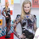 Nicole Kidman abito Alexander McQueen