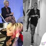 Paola Barale tutta tatuata a Verissimo