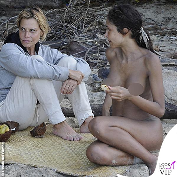 Patricia Contreras Isola dei Famosi playa Desnuda 8