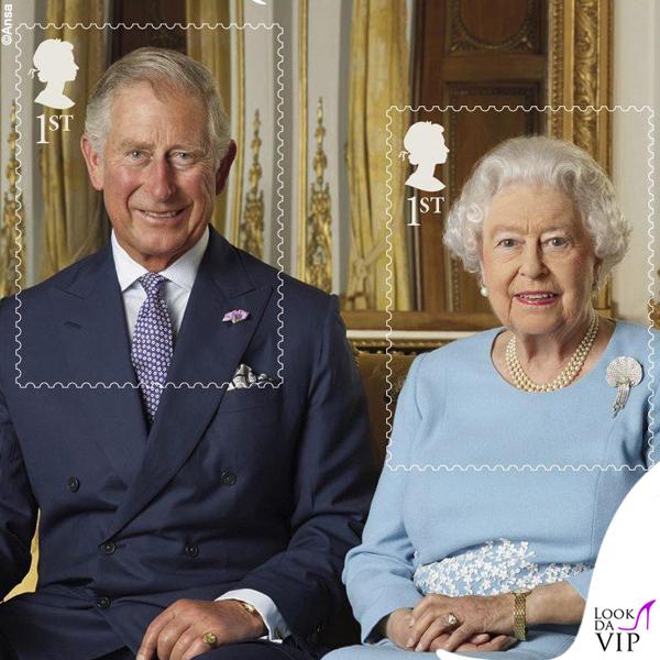 Principe Carlo e regina Elisabetta