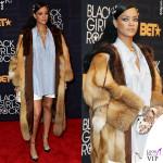 Rihanna total Miu Miu clutch Dolce&Gabbana mollette Fallon collana Le Vian 2