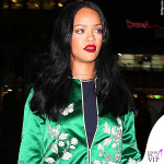 Rihanna tuta Gucci boots Celine occhiali Jean Paul Gaultier 2