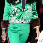 Rihanna tuta Gucci boots Celine occhiali Jean Paul Gaultier 3