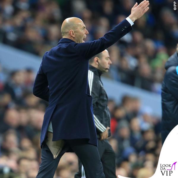 Zinedine Zidane pantaloni strappati Champions League Real Madrid - Manchester City 8