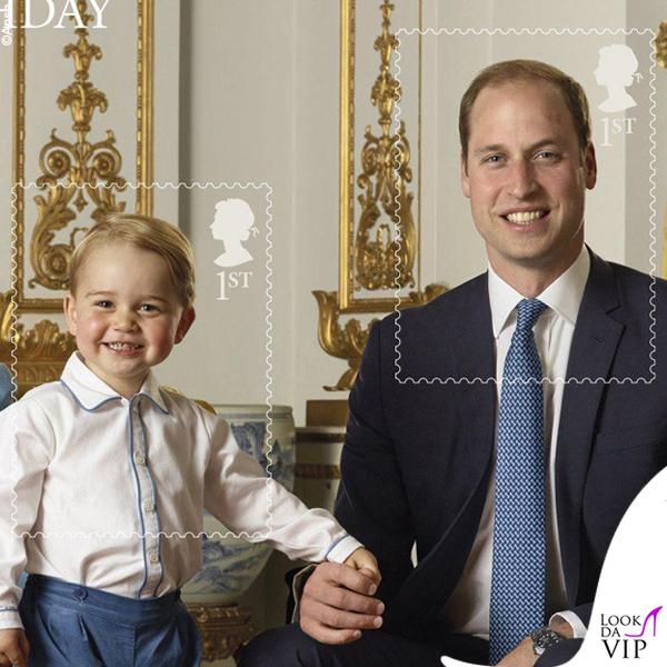 principe George e duca William completo Rachel Riley