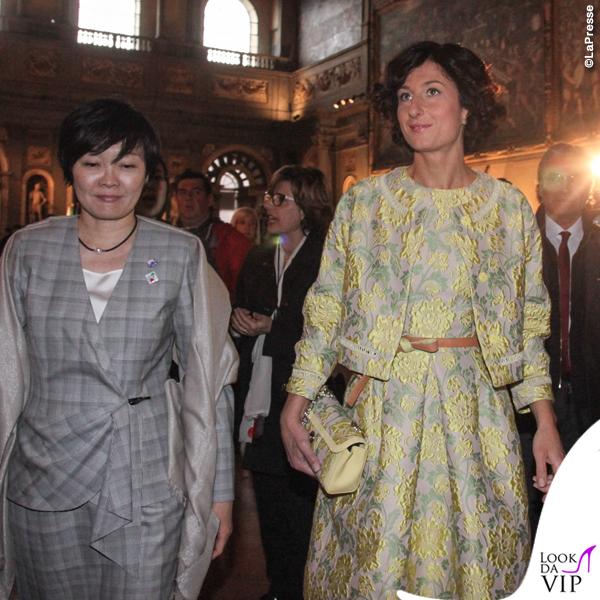 Agnese Renzi total look Ermanno Scervino