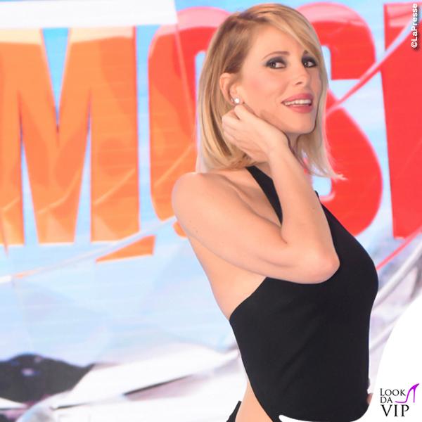 Alessia Marcuzzi finale Isola dei Famosi abito Versace 2