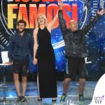 Alessia Marcuzzi finale Isola dei Famosi abito Versace 5