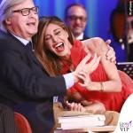 Belen Rodriguez Maurizio Costanzo Show abito Philosophy
