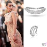 Bella Hadid abito Versace gioielli De Grisogono 2