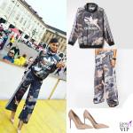Cristina Chiabotto felpa pantaloni Adidas scarpe Le Silla 2