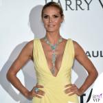 Heidi Klum abito Atelier Versace