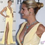 Heidi Klum abito Atelier Versace 2