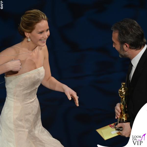 Jennifer Lawrence Oscars 2013 abito Dior 2