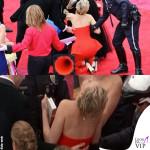 Jennifer Lawrence Oscars 2014 abito Dior