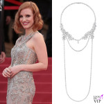 Jessica Chastain collana Piaget 2
