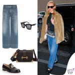 Kate Bosworth jeans Citizen of Humanity occhiali Celine borsa Prada scarpe Louboutin 2