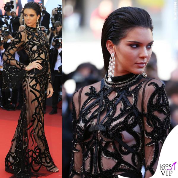 Kendal Jenner abito Roberto Cavalli