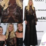 Capezzoli in vista per Lara Stone a Cannes
