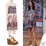 Megan Fox abito Isabel Marant Etoile sandali Stuart Weitzman 2