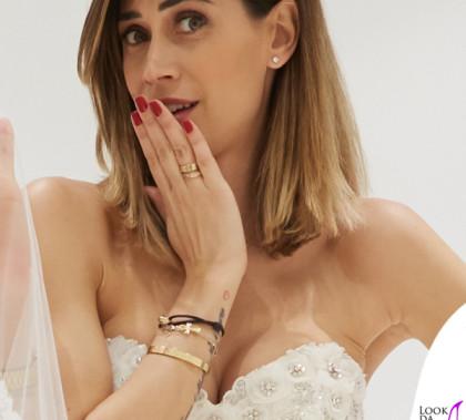 Melissa Satta abito sposa Atelier Eme 2