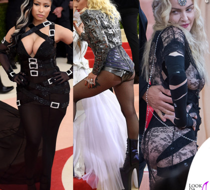 Met Gala 2016 Nicki Minaj Lady Gaga Madonna