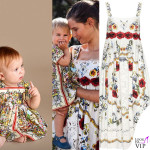 Mia McRae Bianca Balti abiti Dolce & Gabbana