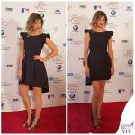Mischa Barton abito Chiara Boni borsa Chanel Flap Bag scarpe Mambrini Chia