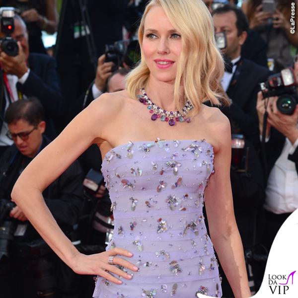 Naomi Watts abito Armani Privé collana Bulgari 2