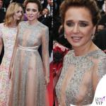 Valeria Golino, sideboob seducente a Cannes