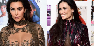 Vogue 100 Gala Dinner Kim Kardashian Demi Moore Kate Moss